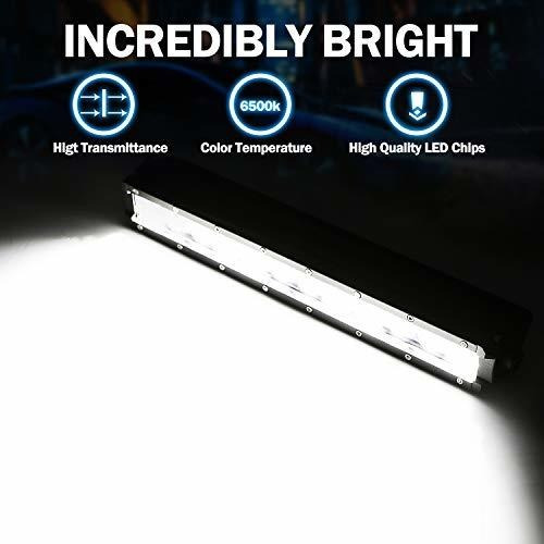 wayup led light bar 12 pulgadas 108w osram led work light po
