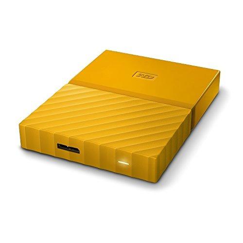 wd 3tb amarillo mi passportâ de disco duro externa portáti