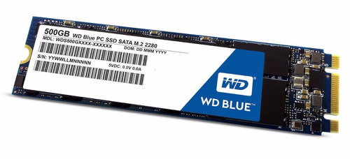 wd blue m.2 500gb interno ssd unidad de estado sólido - sata