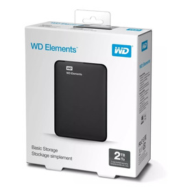 Wd Elements Disco Duro Externo Usb 3.0 2tb + Oferta
