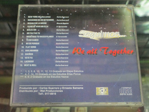 we all together - seguimos... (maury disk)