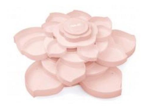 we r - bloom - organizador de acessórios rosa