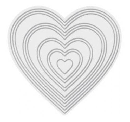 we r - faca de corte modelo coração para máquina de corte ma
