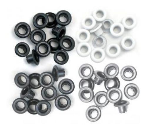we r - ilhós tons de cinza tamanho padrão