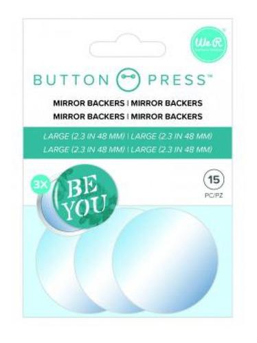 we r - kit para espelho para máquina button press - mirror b