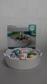 we r - organizador para washi tape com 16 washi tapes