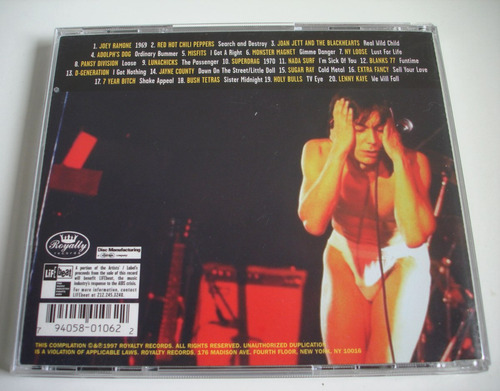 we will fall - the iggy pop tribute cd importado