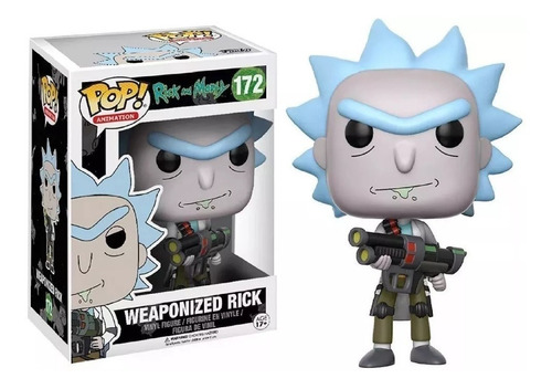 weaponized rick and morty simil funko pop #172 almagro