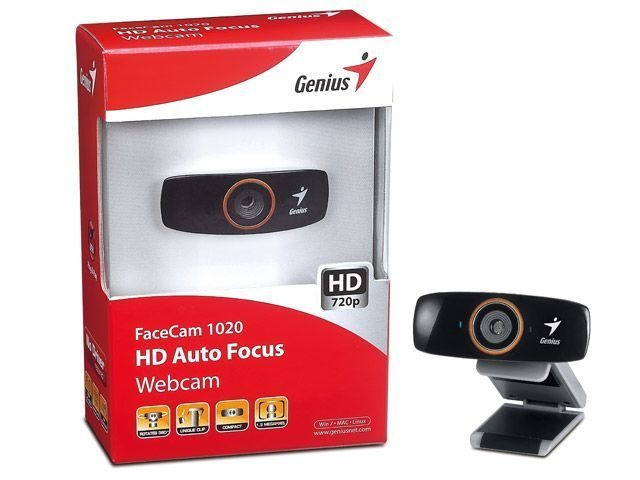 Genius FaceCam 1020 Tattoo WebCam Driver for Mac Download