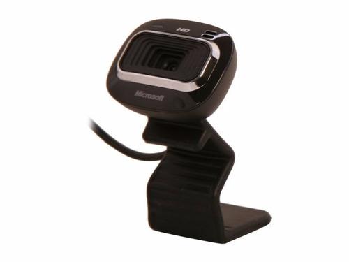 web cam microsoft hd alta definicion 720p camara web microf.