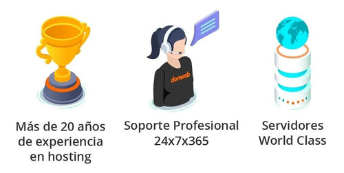 web hosting full + email + sitio + ssl