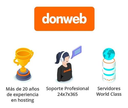 web hosting plus + email + sitio