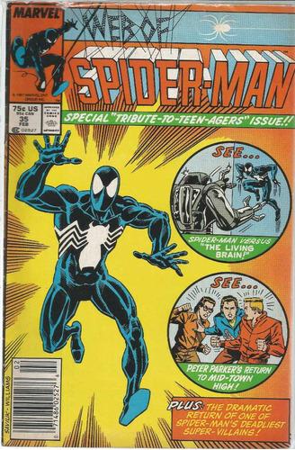 web of spider-man 35 - marvel - bonellihq cx72 g19