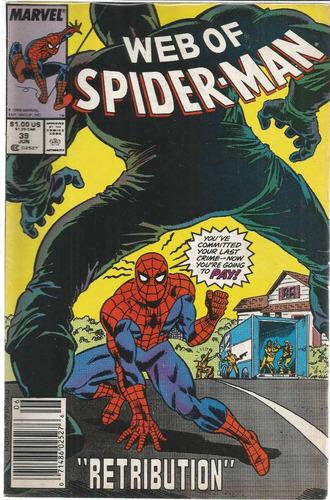 web of spider-man 39 - marvel - bonellihq cx72 g19