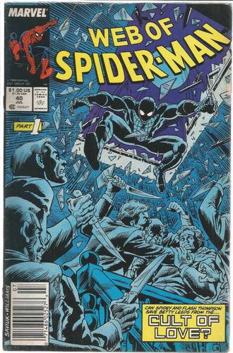 web of spider-man 40 - marvel - bonellihq cx72 g19