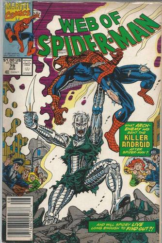 web of spider-man 79 - marvel - bonellihq cx72 g19