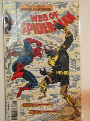 web of spiderman n° 108 - marvel