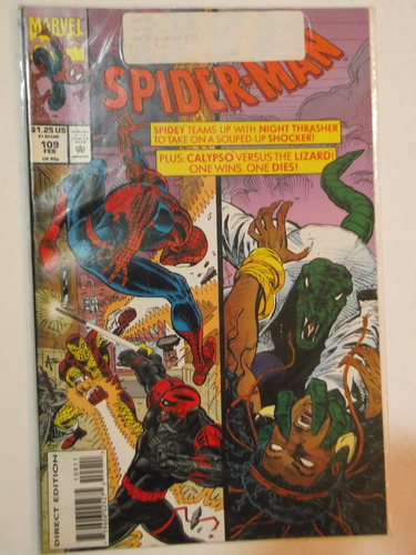 web of spiderman n° 109 - marvel