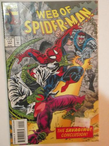 web of spiderman n° 111 - marvel