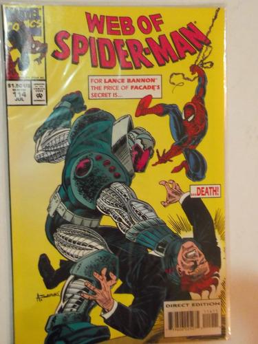 web of spiderman n° 114 - marvel