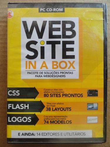 web site in a box - webdesigners