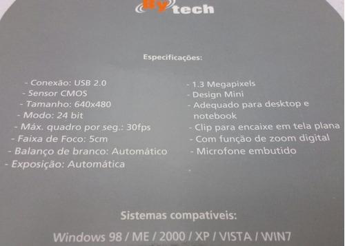 webcam  bytech  com microfone embutido  #