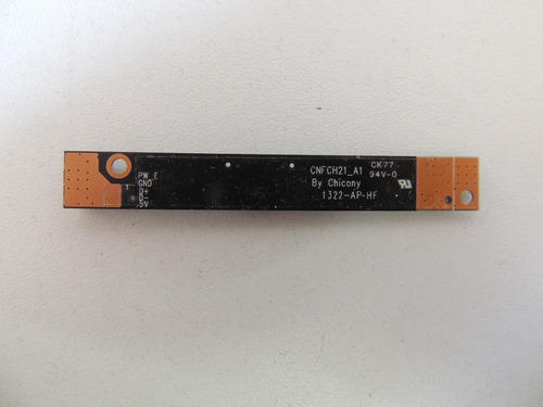 webcam de notebook cce ultra thin n345+