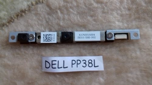 webcam dell pp38l p/n: aicn 2015004