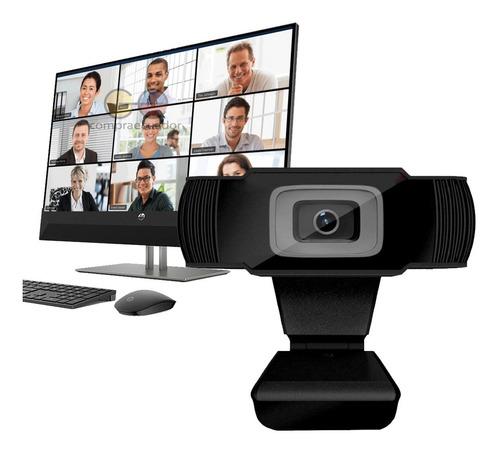webcam fullhd 720p 12.0mp 30° ajustable usb 2.0 enfoque auto