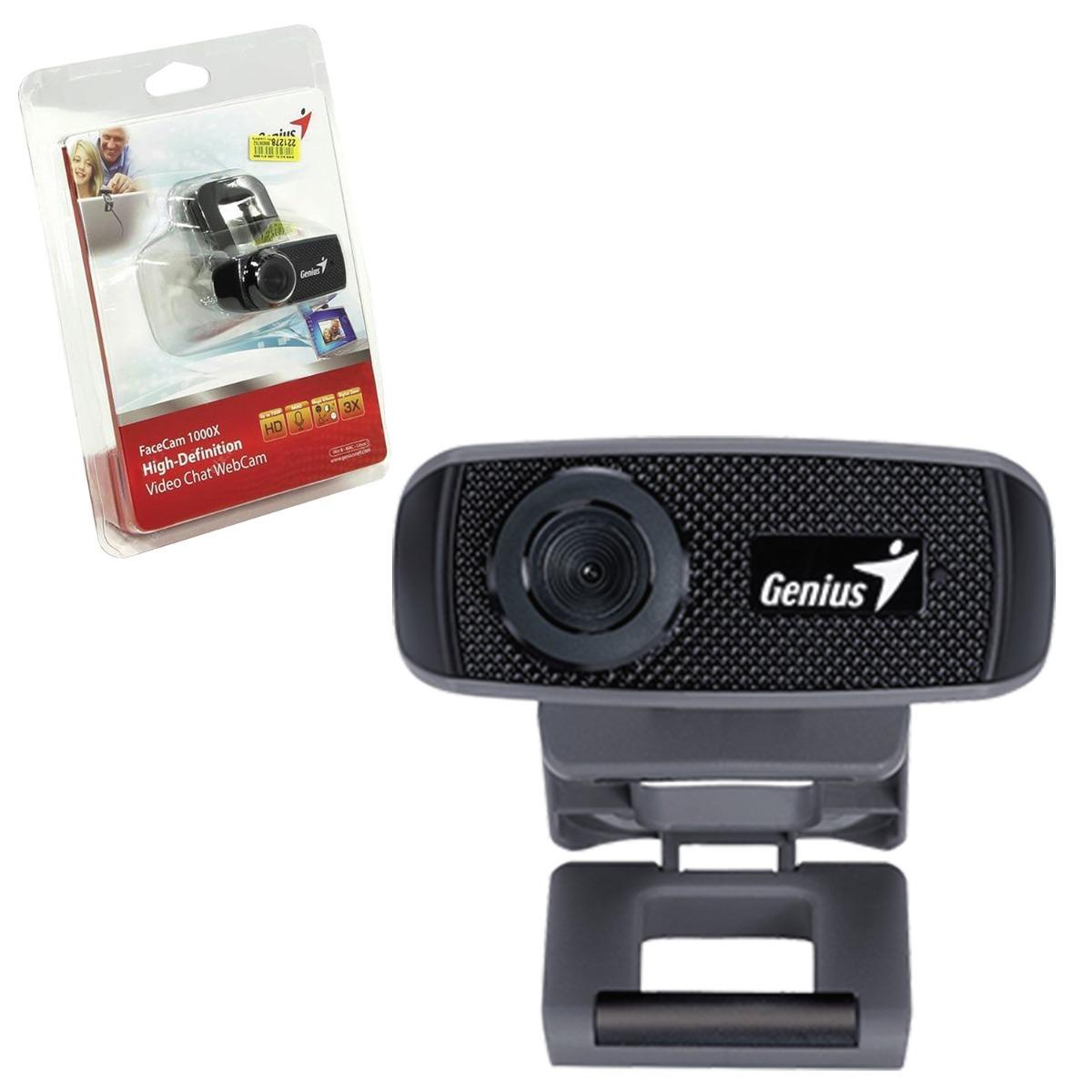 9d85acb35b9 Webcam Genius Facecam 1000x Hd 720p Usb 2.0 Zoom 3x - R$ 149,92 em ...