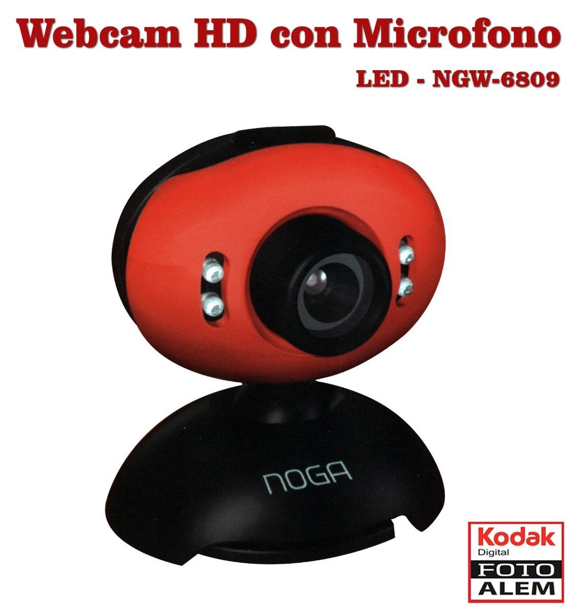 driver camara web noganet ngw-6809