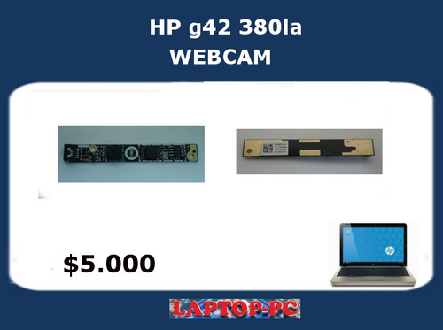 webcam hp g42 380la