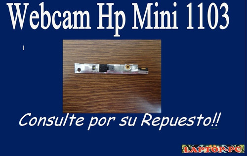 webcam   hp mini 1103