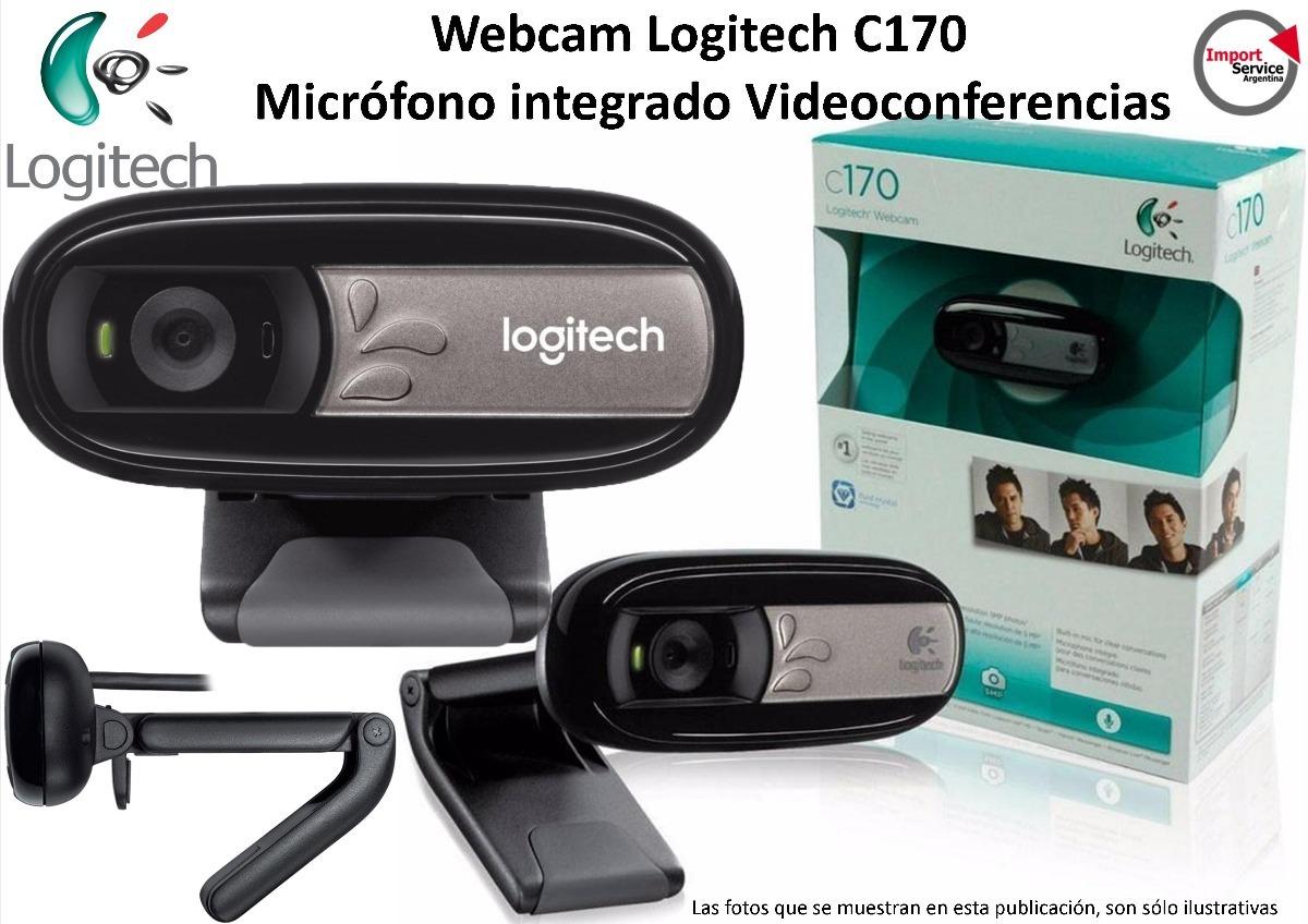 45b3db15932 webcam logitech c170 micrófono integrado videoconferencias. Cargando zoom.