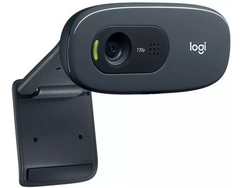 webcam logitech c270 960-000694 hd720p 3mpx con microfono