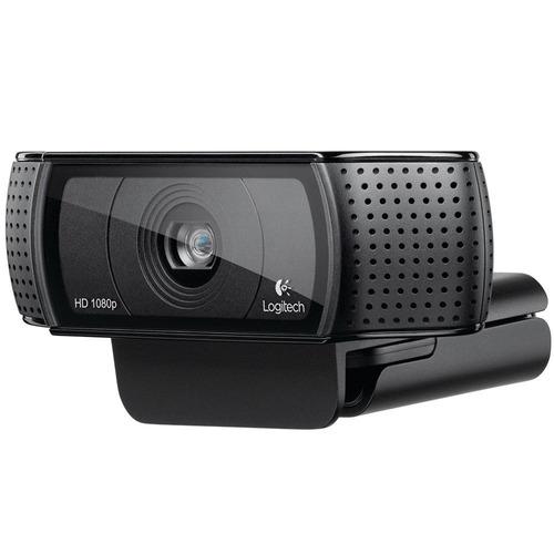 webcam logitech c920 hd pro full hd 1080p 15mp box lacrada
