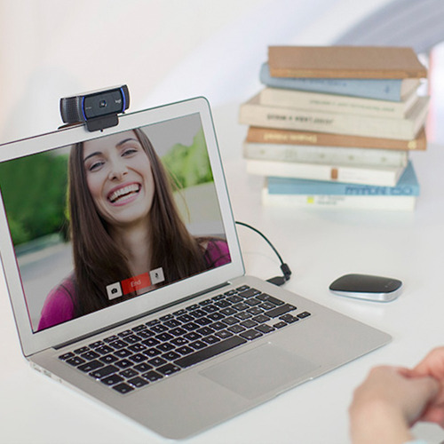 webcam logitech c920 hd pro micrófono full hd 1080p 30fps