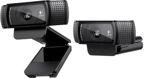 webcam logitech c920 pro fullhd 1080p novo original