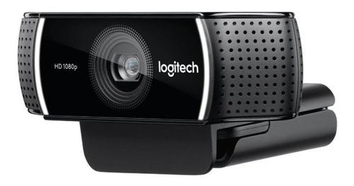 webcam logitech c922 pro 1920x 1080 5pmx usb c/microfono