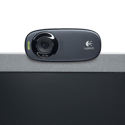 webcam logitech con micrófono