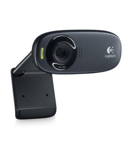 webcam logitech hd c310 - alta definición 720p con micrófono