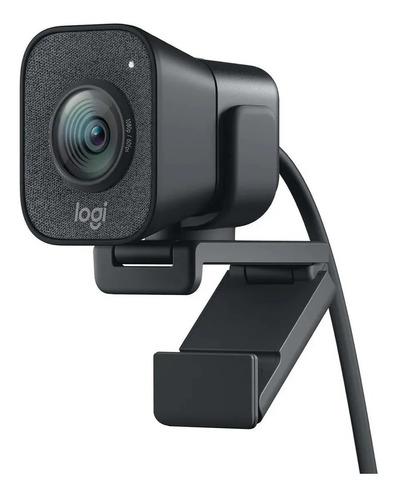 webcam logitech stream cam plus 1080p con tripode palermo