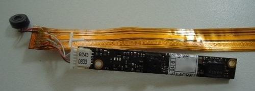 webcam notebook toshiba satélite u405d com flat