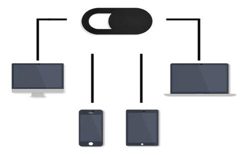 webcam tampa câmera adesivo privacidade espião 3 unidades