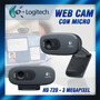 Camara Web Logitech C270 Hd 3 Megapixeles