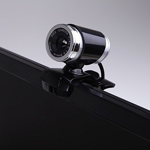webcams,jeswell usb 2.0 cámara web clip-on, 12.0 megapíx..