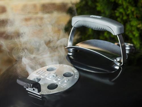 weber asador de carbón master touch 22 pulg. negro 14501001