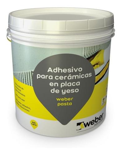 weber col pasta x 35 kg (pegamento cerámica sobre durlock)