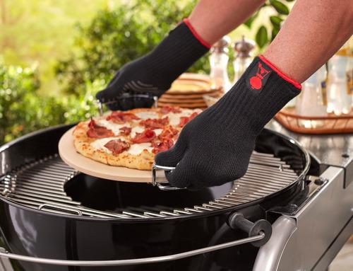 weber guantes premium l/xl originales para asador - 6535