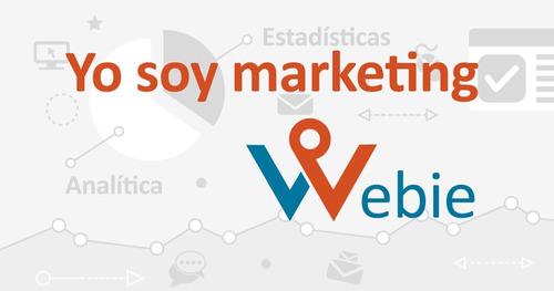 webie+ creador de sitio web y herramientas de mercadotecnia